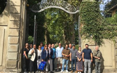 PROJECT MOBILITY C2 – FORMATION WORKSHOP ON HISTORIC GARDENS – SHORTTERM JOINT STAFF TRAINING EVENT E1 – OPEN FIELD – Me-We (ITA) TRANSNATIONAL PROJECT MEETING An approved ERASMUS+ Project 2020-1-IT02-KA204-079679 Florence, 23rd-25th September 2021